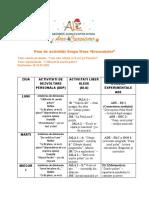 Plan de activitati Grupa Mare 18-22.01.2021