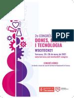 Programa del Congrés Dones, Ciència i Tecnologia
