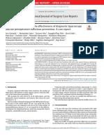 Tuberculous peritonitis; The effectiveness of diagnostic laparoscopy and the perioperative infectious prevention_ A case report