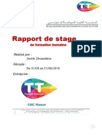 Dhiaeddine Daikhi Rapport de Stage Formation Humaine