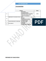 CAF ALL SUBJECTED TOPICWISE GRID PREPARED BY FAHAD IRFAN