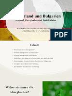 Deutschland Und Bulgarien