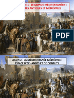 Diapo H1 Q2 - Mediterranee Medievale (I-Civilisations & II-Conflits)