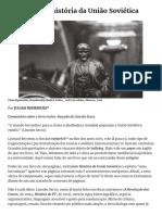 Introdução à história da União Soviética - A TERRA É REDONDA