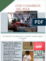ELEMENTOS Y DINÁMICA DEL AULA 2003