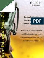 Erste Eslarner Zoigl-Zeitung 01.2011