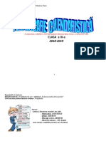 PLANIFICARE CLASA A III A