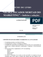 Os Dez Pecados Mortais do Marketing
