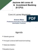 Presentazione Corso C&I Banking