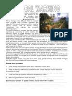 Environment Global Warming Conversation Topics Dialogs Oneonone Activities Re 90781 (3)