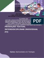 (32 99194-8972) TEMOS PRONTO Portfólio Diferenciação Entre Teologia e Disciplinas Afins - Teologia 4 e 5 Semestre
