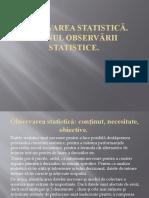 OBSERVAREA STATISTICĂ (1)