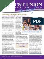 Magazine in Brief Spring 2011