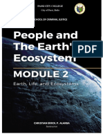 Module 2 (People and the Earth's Ecosystem)