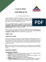 Manual y Cronograma para el Mentor y Coordinador.