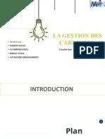 Gestion de Carrière.