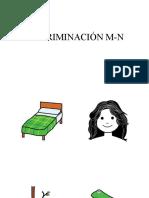 DISCRIMINACIÓN M-N