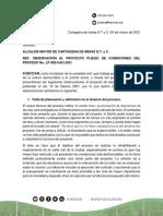 Observaciones Funcicar Rehabilitacion Malla Vial