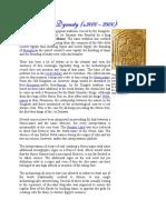 1st dynasty