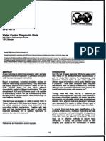 SPE 30775 Water Control Diagnostic Plots