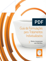 Guia de Formulações para Tratamentos Individualizados. Ciência e Inovação para uma Vida Única.