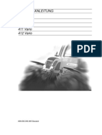 Fendt Vario 4xx Betriebsanleitung