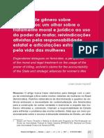 HUZIOKA, Liliam Litsuko - Diálogos de gênero sobre feminicídios
