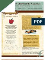 February Monthly Newsletter 2011
