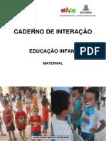 CADERNO DE INTERAÇÃO - MATERNAL -  MARÇO