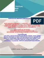 (32 99194-8972) TEMOS PRONTO Portfólio O Uso Das Novas Tecnologias No Ensino de Línguas - Letras Português e Inglês Semestre 6º7º