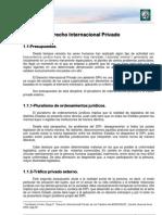 Aspectos Generales del Derecho Internacional Privado