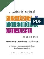 UMA POLÍTICA DE EDUCAÇÃO PATRIMONIAL