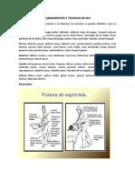 FUNDAMENTOS Y TECNICAS DE SPA
