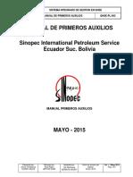 HSE Manual de primeros auxilios