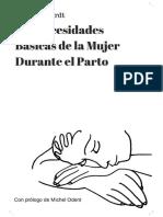 Las Necesidades Basicas de una Mujer de Parto (Spanish Edition)_nodrm