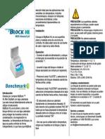 Benchmark BSH200HL manual esp
