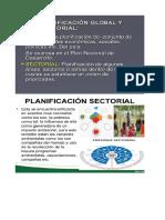 Planeacion Global, Sectoral...