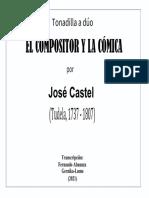 EL COMPOSITOR Y LA CÓMICA (José Castel). Fernando Abaunza