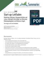 Der Ultimative Start Up Leitfaden.