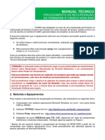 Manual Técnico - Procedimento de Recuperação de Firmware - Família WOM 5000