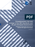 Complementary Use and Linkage of the GRI Standards and BIA