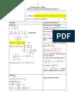 2020 TJC JC2 Prelim H2 Math Paper 1 (Solutions)