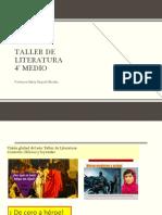 descripción Taller de literatura