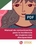 Manual de comunicación | Mujeres con discapacidad