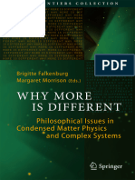 Falkenburg, Brigitte_Morrison, Margaret - Why More is Different Philosophical Issues in Condensed Matter Physics and Complex Systems
