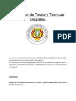 INTEGRADOR TEORIAS Y TECNICAS GRUPALES- UNLU