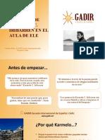 Presentación LA POESÍA DE KARMELO C. IRIBARREN EN EL AULA DE ELE