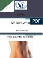corporal pós operatório