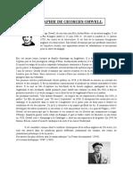 Biographie de Gorge weel
