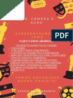 Vermelho, Amarelo e Preto Noite de Premiação de Cinema Imagem Para Pinterest